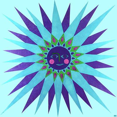 Jeweled Sun Poster