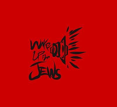 Jews Wake Up Poster