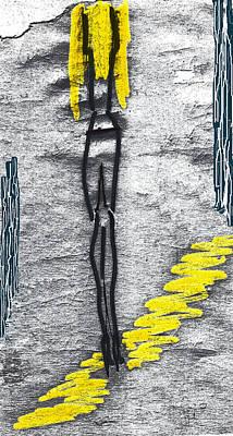 Poster featuring the photograph Jill. An Angel by Viktor Savchenko