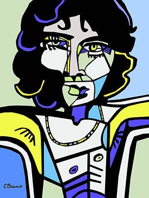 Jim Morrison Poster by C Baum