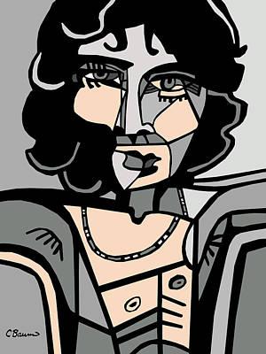 Jim Morrison Poster Poster by C Baum