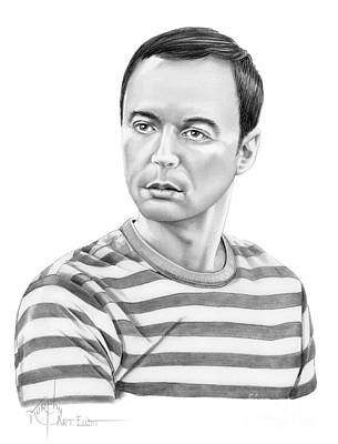 Jim Parsons - Sheldon Poster
