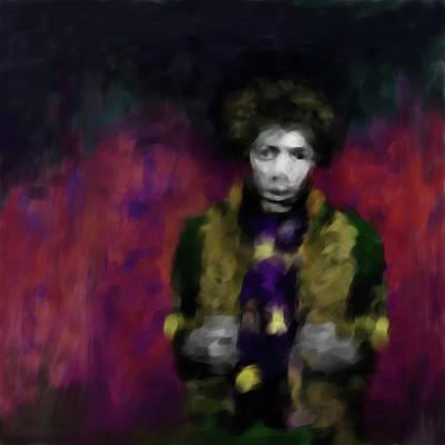 Jimi Hendrix 550 1 Poster by Mawra Tahreem