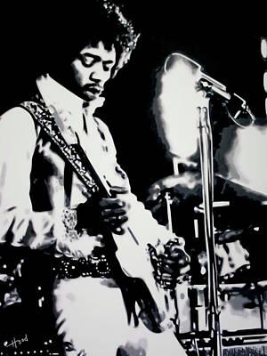 Jimmy Hendrix Purple Haze Poster