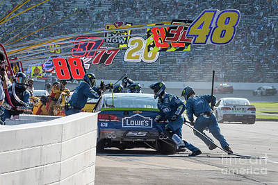 Jimmy Johnson Getting Some New Shoes Poster