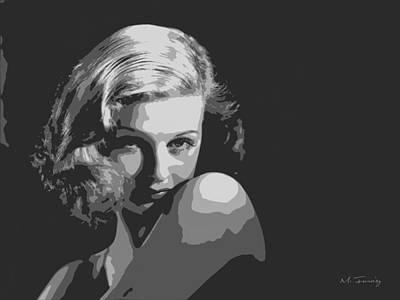 Joan Geraldine Bennett Poster