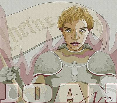 Joan Of Arc Poster by Mary Zins