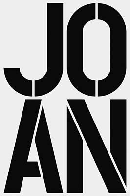 Joan Poster by Three Dots