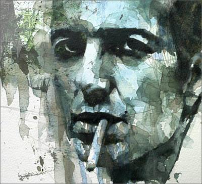Joe Strummer - Retro  Poster