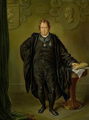 Johan Melchior Kemper Poster by David Pierre Giottino Humbert de Superville