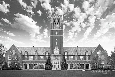 John Carroll University Administration Building Poster