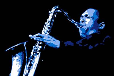John Coltrane Poster by DB Artist