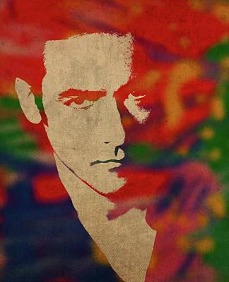 John Cusack Watercolor Portrait Poster