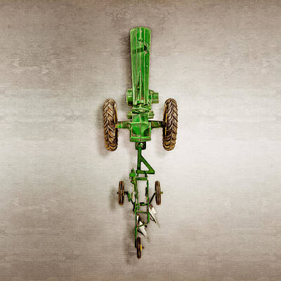 John Deere Plow Poster by YoPedro