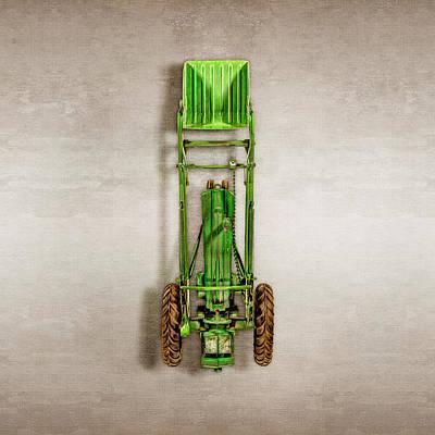 John Deere Tractor Loader Poster