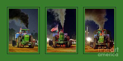 John Deere Tractor Pull Poster Poster