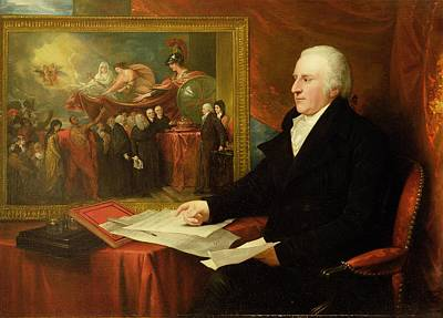 John Eardley Wilmot  Poster by Benjamin West