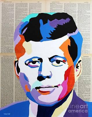 John F. Kennedy Poster by Venus
