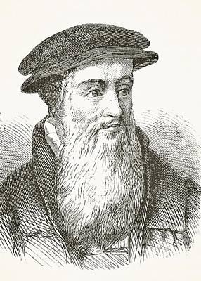 John Knox Circa 1510 To 1572 Scottish Poster by Vintage Design Pics