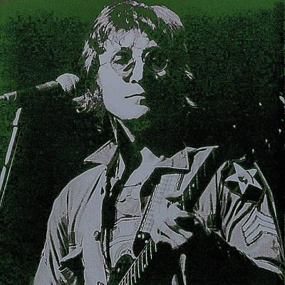 John Lennon Poster by David Patterson