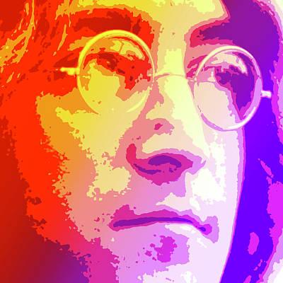 John Lennon Poster by Greg Joens