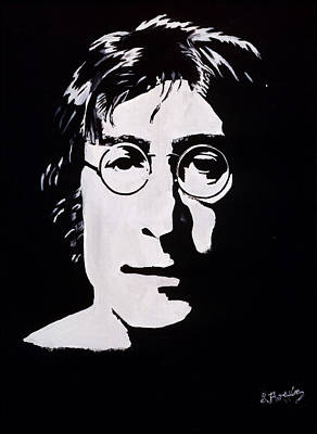 John Lennon Poster by Leeann Stumpf