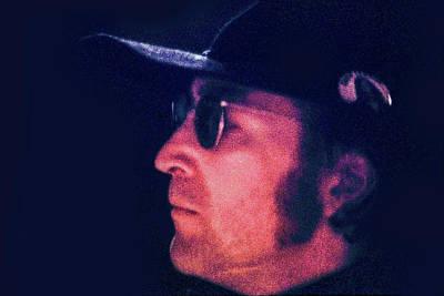John Lennon, Rehearsal At Sgt. Pepper's Musical Poster by Howard Dando