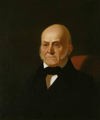 John Quincy Adams Poster by George Caleb Bingham