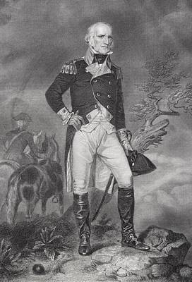 John Stark 1728-1822. American General Poster by Ken Welsh