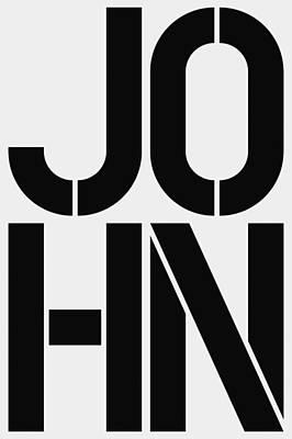 John Poster by Three Dots