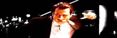 John Travolta 3a Poster by Brian Reaves
