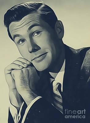 Johnny Carson, Vintage Entertainer Poster