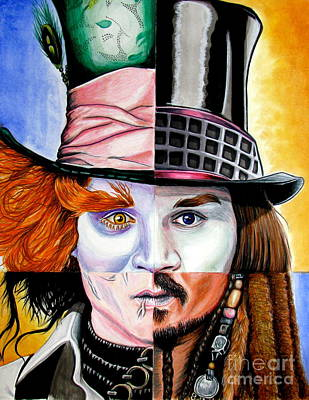 Johnny Depp's Greatest Poster by Andres Machado