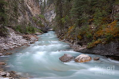Johnston Canyon In Banff National Park Poster by RicardMN Photography