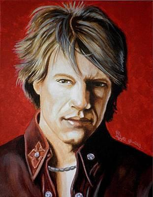 Jon Bon Jovi Poster by Al  Molina