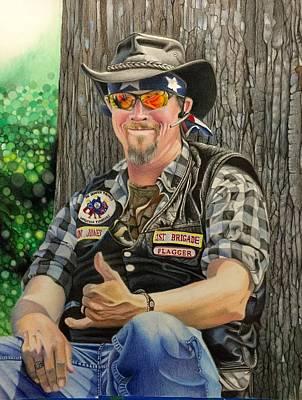 Jon Jones, Army Of Northern Virginia Mechanized Cavalry  Poster