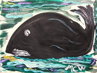 Jonahs Friend Poster by Mary Carol Williams