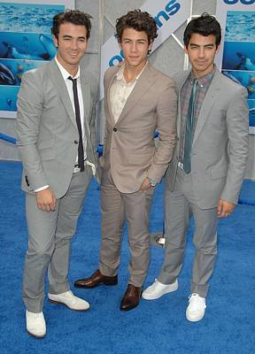 Jonas Brothers, Kevin Jonas, Nick Poster by Everett