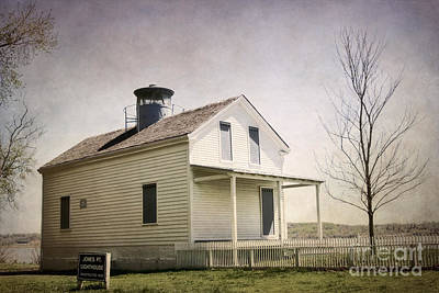 Jones Point Lighthouse Poster by Susan Isakson