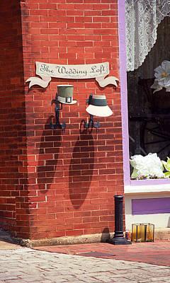 Jonesborough Tennessee - Wedding Shop Poster by Frank Romeo