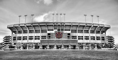 Jordan Hare In Black And White Poster by JC Findley