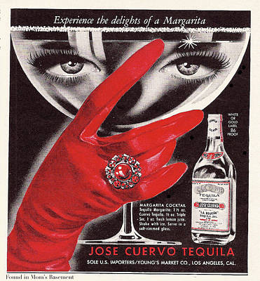 Poster featuring the digital art Jose Cuervo Tequila Experience The Delights Of A Margarita by Reinvintaged