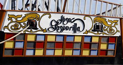 Jose Gasparilla Ship  Poster