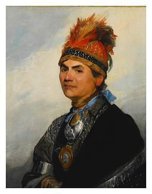 Joseph Brant Poster by Gilbert Stuart