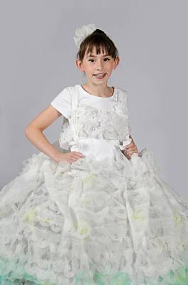 Josette In Dryer Sheet Dress Poster