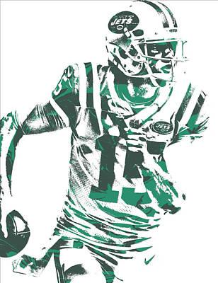 Josh Mccown New York Jets Pixel Art 1 Poster