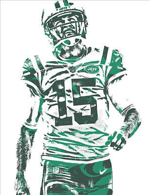 Josh Mccown New York Jets Pixel Art 2 Poster