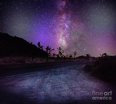 Joshua Tree Milky Way Galax Poster by Timothy Kleszczewski