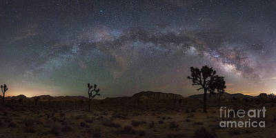 Joshua Tree Milky Way Panorama Poster