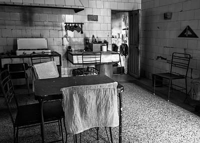 Poster featuring the photograph Josie's Kitchen Havana Cuba by Joan Carroll